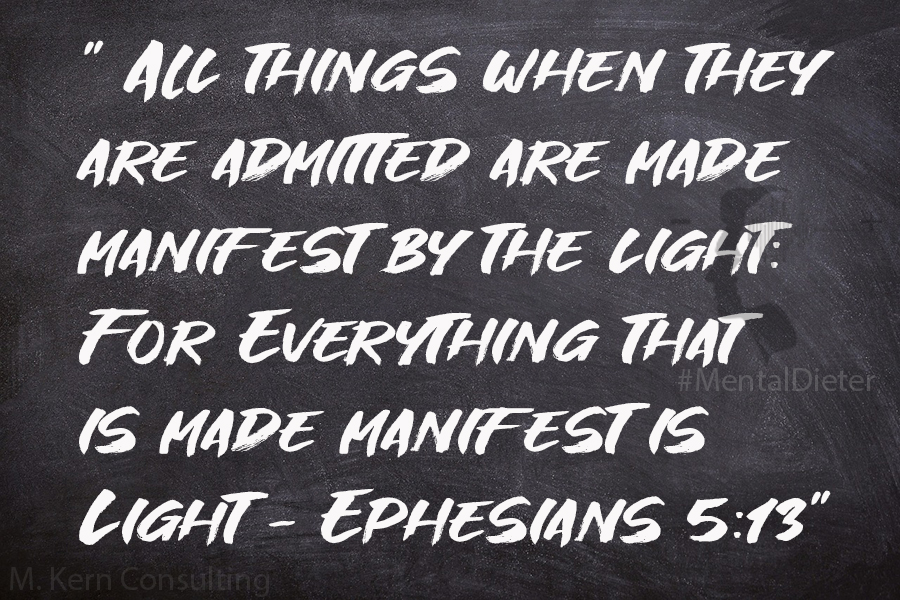 How to Manifest Anything Ephesians 5:13