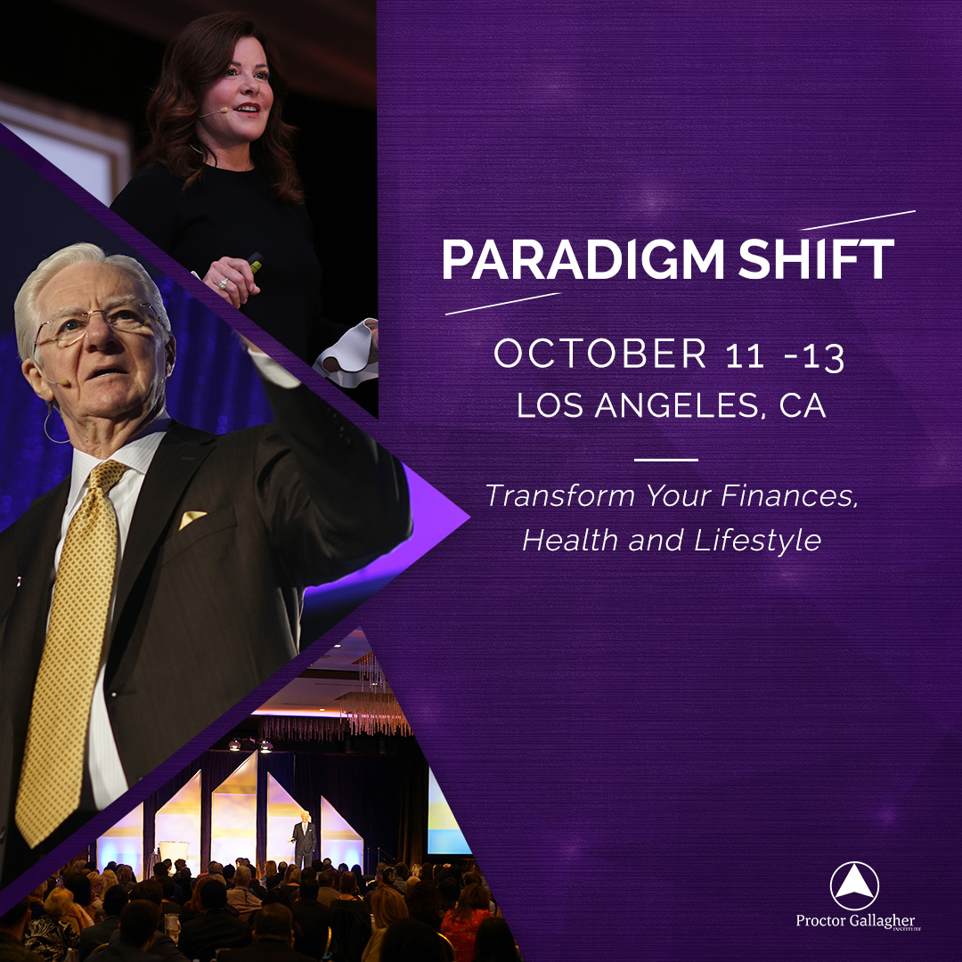 Event – Bob Proctor Paradigm Shift Live Stream Oct 11-13th 2019