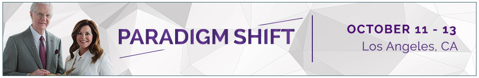 Paradigm Shift Live Event Oct 11-13, 2019